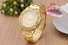 Montre femme moda casual relojes mujer acero inoxidable reloj dorado hombre de peluche oso de cuarzo reloj relogio masculino