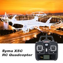 High Quality Toy RC Quadcopter SYMA X5C 2MP HD FPV Camera 2.4GHz 4CH 6Axis RC Helicopter Quadcopter Gyro 2GB TF Card