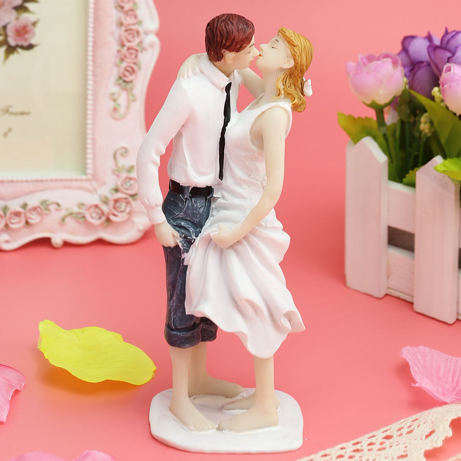 funny wedding cake topper for wedding decoration supplies cake
