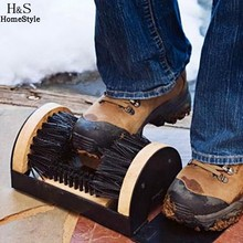 Practical Boots Shoes Sneakers Floor Mounted Mud Dirt Brush Cleaner House Doorway Home Scrub(China (Mainland))