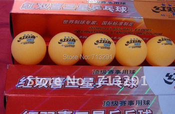 free shipping new DHS Table tennis ball 3 star pingpong balls have each set has 6 balls