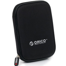 ORICO PHD-25-BK Shockproof Carry Bag Case Cover  Hard Carrying Case Pouch for External 2.5″ Hard Drive Box