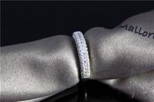 wedding zirconia CZ diamond cut Cute rings Jewelry for women 925 sterling silver anel feminino bijoux