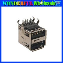 Free shipping USB A Type Plug Socket Connector,USB-A2-02