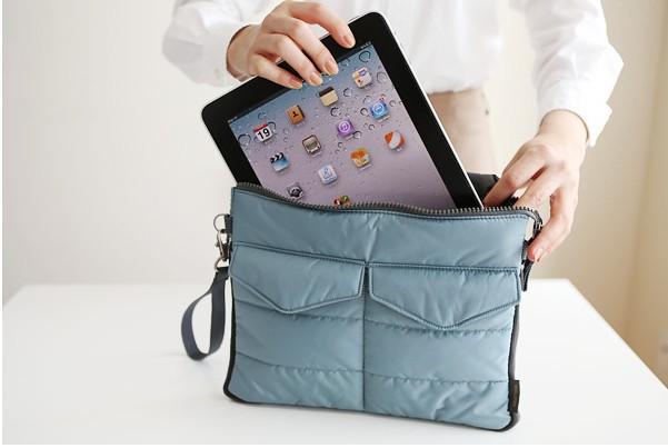 big discount cheap 2013 new ipad bag tablet computer storage bag digital organizer cosmetic bag(China (Mainland))