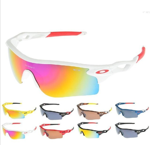 Free shipping 2013 newest men's and women sport riding protective sunglasses