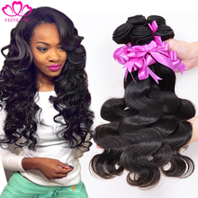 7a Unprocessed Peruvian Virgin Hair Body Wave 3 PCS Rosa Hair Products Peruvian Body Wave Human Hair Weave Virgin Peruvian Hair(China (Mainland))