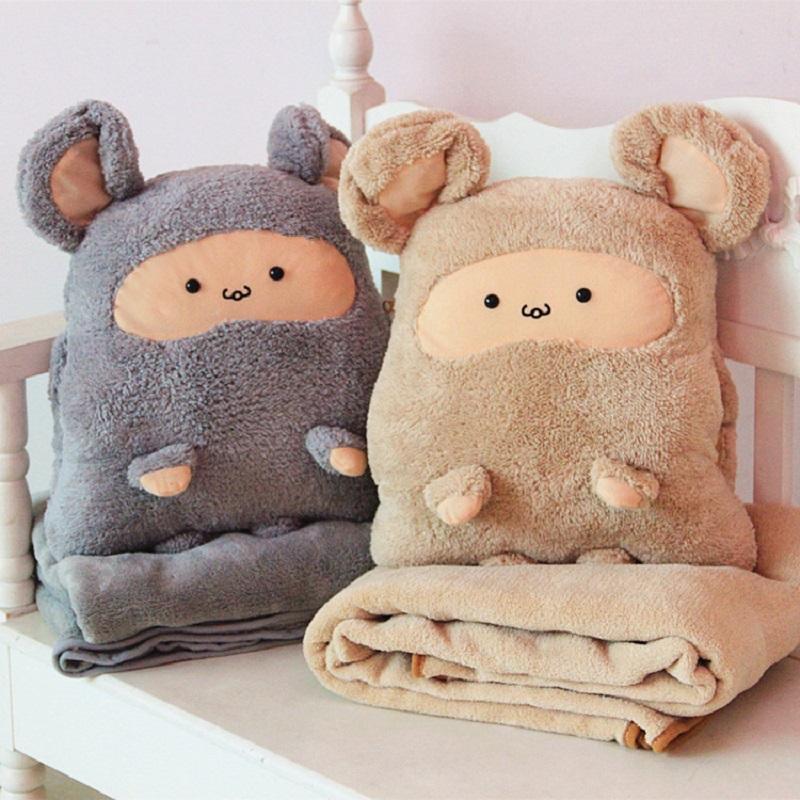 Cute Baby Plush Doll Warm Hand Pillow Doll Cartoon Chinchillas Plush Warmers Christmas Gift D156(China (Mainland))