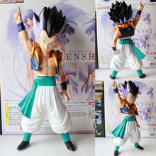 Free Shipping Anime Dragon Ball Z Gotenks PVC Action Figure Collection Model Toy 17cm ADB043