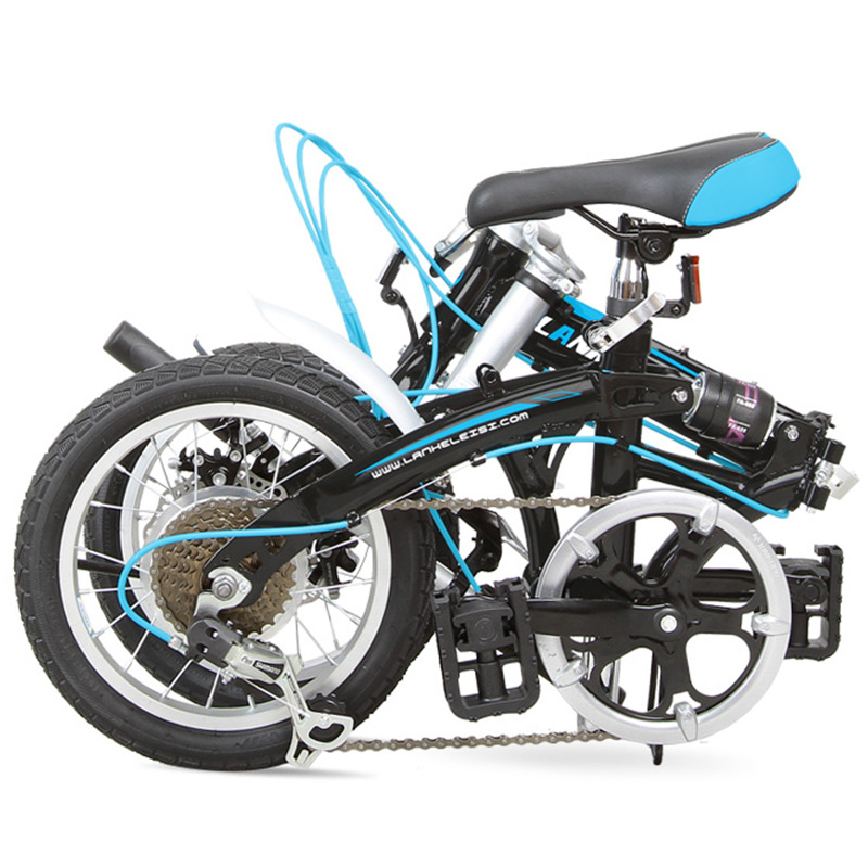 "14"", Folding Bike, High-carbon Steel Frame, Double Disc Brake, Mini Bike for Students(China (Mainland))"