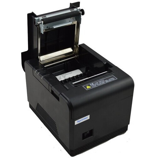 2015 Brand New 200mm/sec 80mm thermal auto cut receipt ticket printer xp-q200 support pos system and logo download printing(China (Mainland))