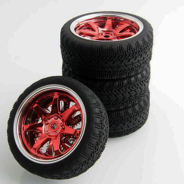Special offer 4pcs 1/10 on road car RC car tire , combiner Diameter 65mm, RC car wheel,toy car wheel(China (Mainland))
