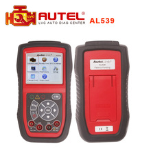 Authorized Distributor Professional Autel AutoLink AL539 scanner OBDII+Electrical Test Tool update online Original In stock(China (Mainland))