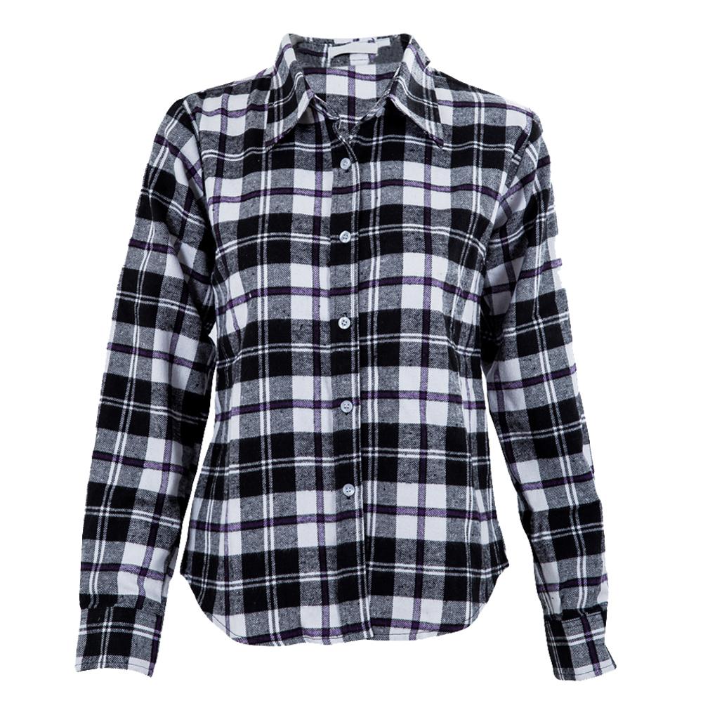 Popular purple flannel shirts buy cheap purple flannel for Types of flannel shirts