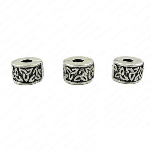 Bead Clip Lock Wholesale Lots Mixed 20Pcs Tibetan Silver Plate Stopper Beads Charms Fit European Bracelet PA-TDmix03(China (Mainland))