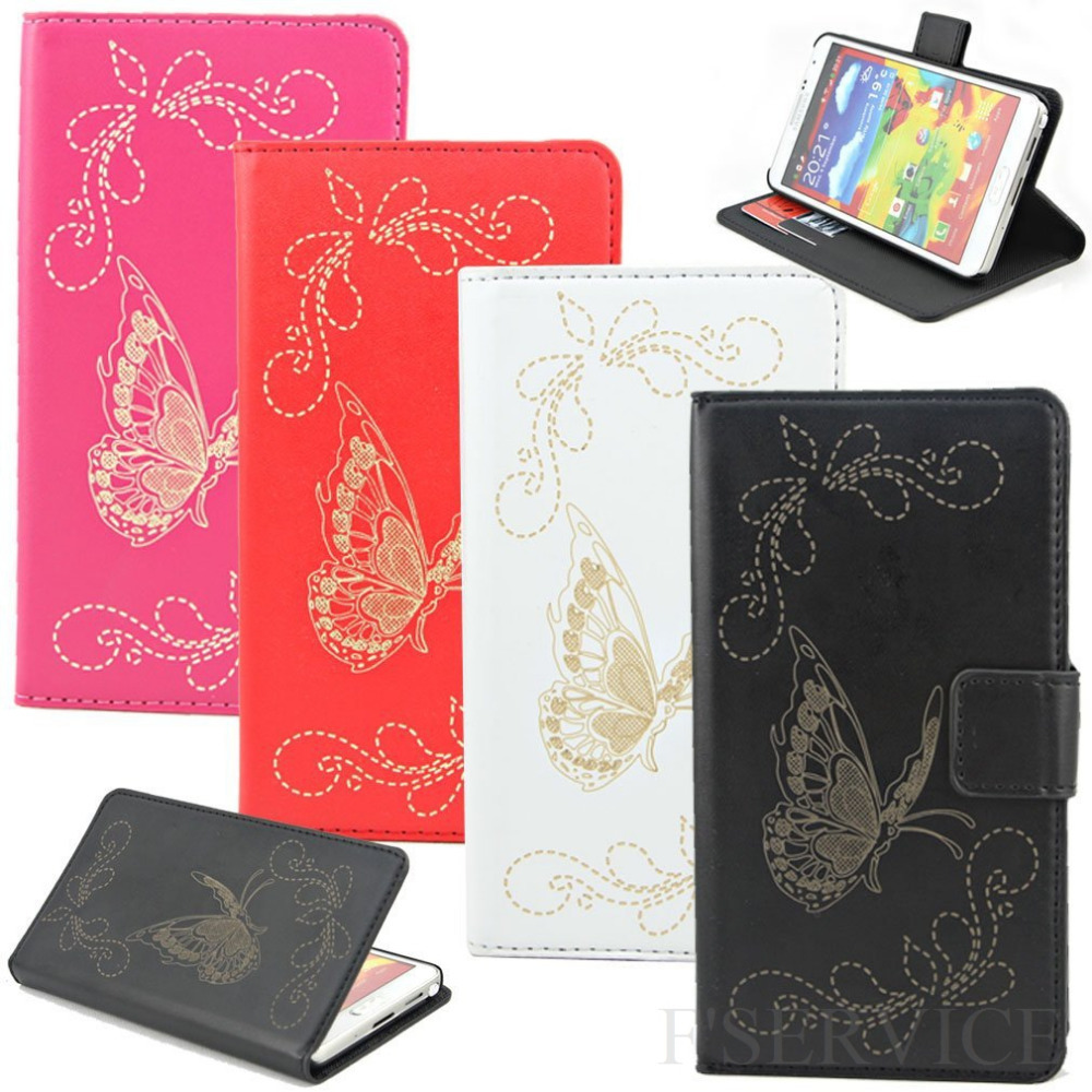 Free Shipping Magnetic Closure Laser Carving Butterfly Pattern PU Leather Case Cover for Samsung Note 3 N9005 w/ Stand & Wallet(China (Mainland))