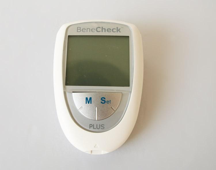Тест на содержание глюкозы в крови Benecheck  blood glucose strips