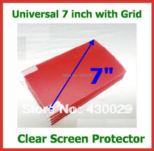 10pcs 7 inch Universal Clear Screen Protector 3-Layer Grid 153x92mm for Mobile Phone GPS MP3 MP4 MID Tablet PC Free Shipping