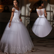 Buy Elegant Lace Wedding Dress 2016 Ball Gown Turkey China Weddingdress Bridal Bride Dresses Wedding Gowns vestidos de novia for $159.30 in AliExpress store