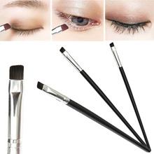 Promotion 1Pcs Specialty Eye Angled Eyebrow Eyeliner Contour Makeup Brush Beauty DIY Tools Wholesale