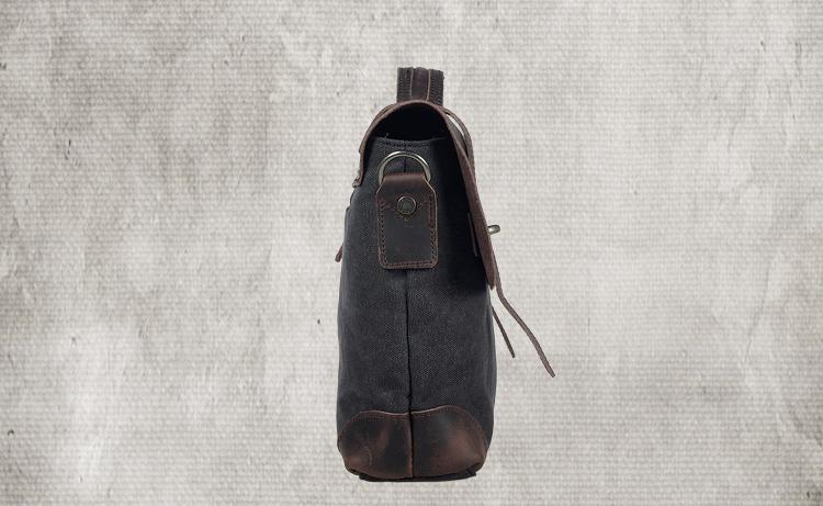 Designer Brand  Man's  Casual Vintage Canvas Leather Bags  Men's Cross
