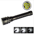 Professional 100M Diving Underwater Flashlight 6000Lm 3 x High Quality XM L T6 LED Torch Waterproof