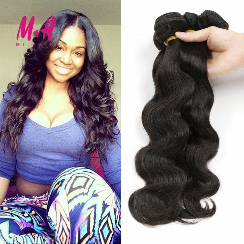 Malaysian Virgin Hair Rosa Hair Products Malaysian Body Wave 3Pcs Unprocessed Virgin Human Hair Weave Malaysian Body Wave Hair