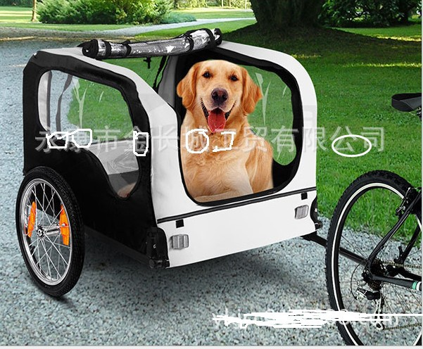 Export products/bicycle pet trailer/bicycle tow dog car special/pet/pet trailer/CE remorque(China (Mainland))