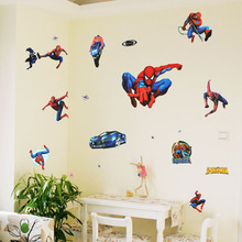 Spider-Man Vinyl PVC Removable Decal Home Decor Art Nursery Kids Children Child Bedroom Living Room DIY Wall Stickers Mural - Mr. Ray store
