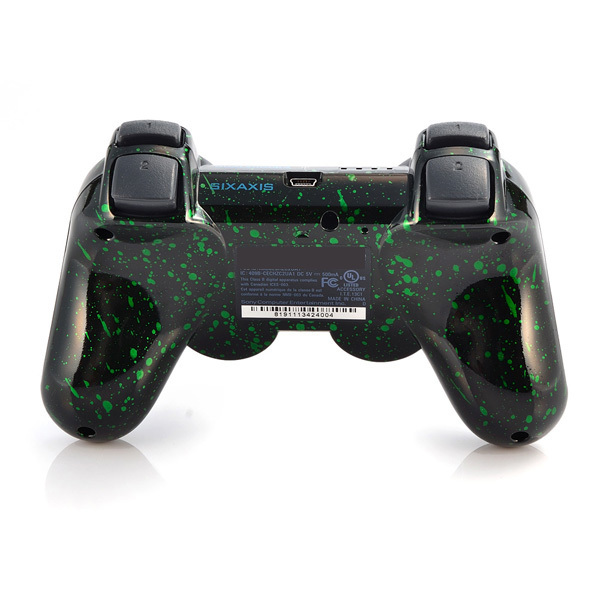 for ps3 controller game controllers controllers Wireless Controller for PlayStation 3 Place snowflake green for PS2 PS3(China (Mainland))