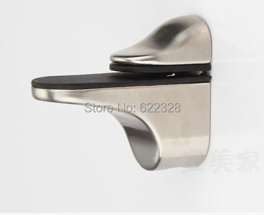 Pair of Metal Adjustable Shelf Holder Bracket For Glass or Wood Shelves<br><br>Aliexpress