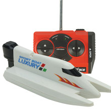2.4Ghz 4CH High Speed Radio Control Electric RC Racing Boat Speedboat Toy(China (Mainland))