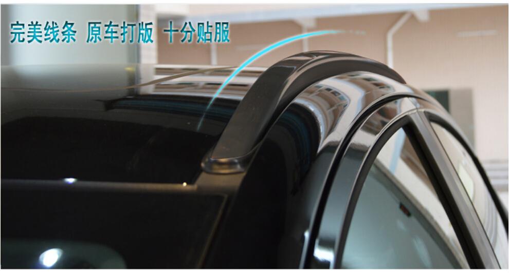 High Quality! VEZEL 2 Pcs/Set ABS Chrome Car Roof rack Luggage rack/Auto Roof racks For Honda VEZEL 2014.2015.shipping(China (Mainland))