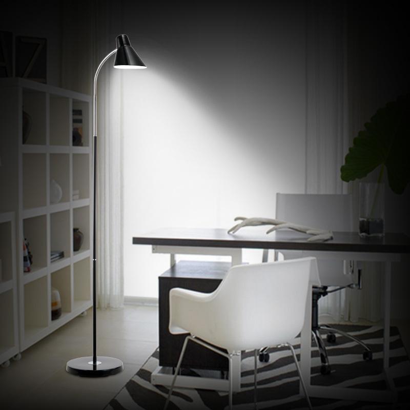 modern minimalist led the study eye metal floor lamp ikea