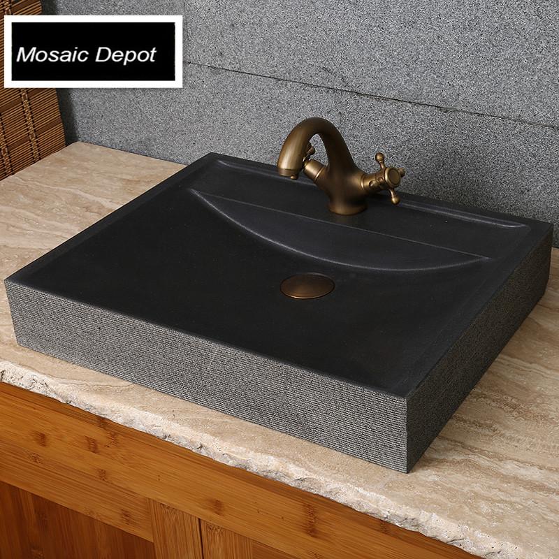 popular stone bathroom countertops buy cheap stone. Black Bedroom Furniture Sets. Home Design Ideas