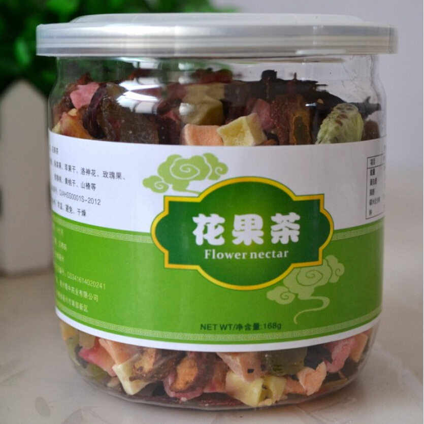 Delicious Fruit Tea Chinese Fashion Fruit Tea Delay Senility Flavored Health Care Blended Dried Fruit Tea FREE SHIPPING(China (Mainland))