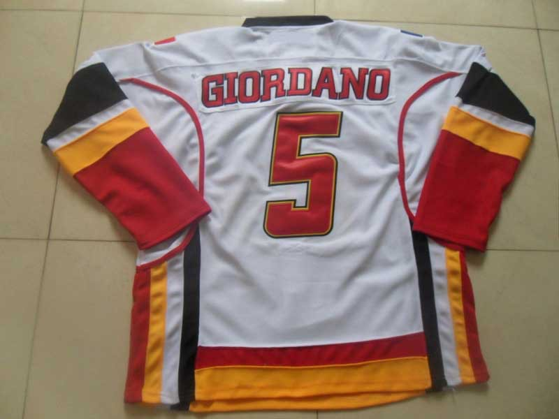5 mark giordano calgary flames jersey sewn on letters With sew on letters for jerseys