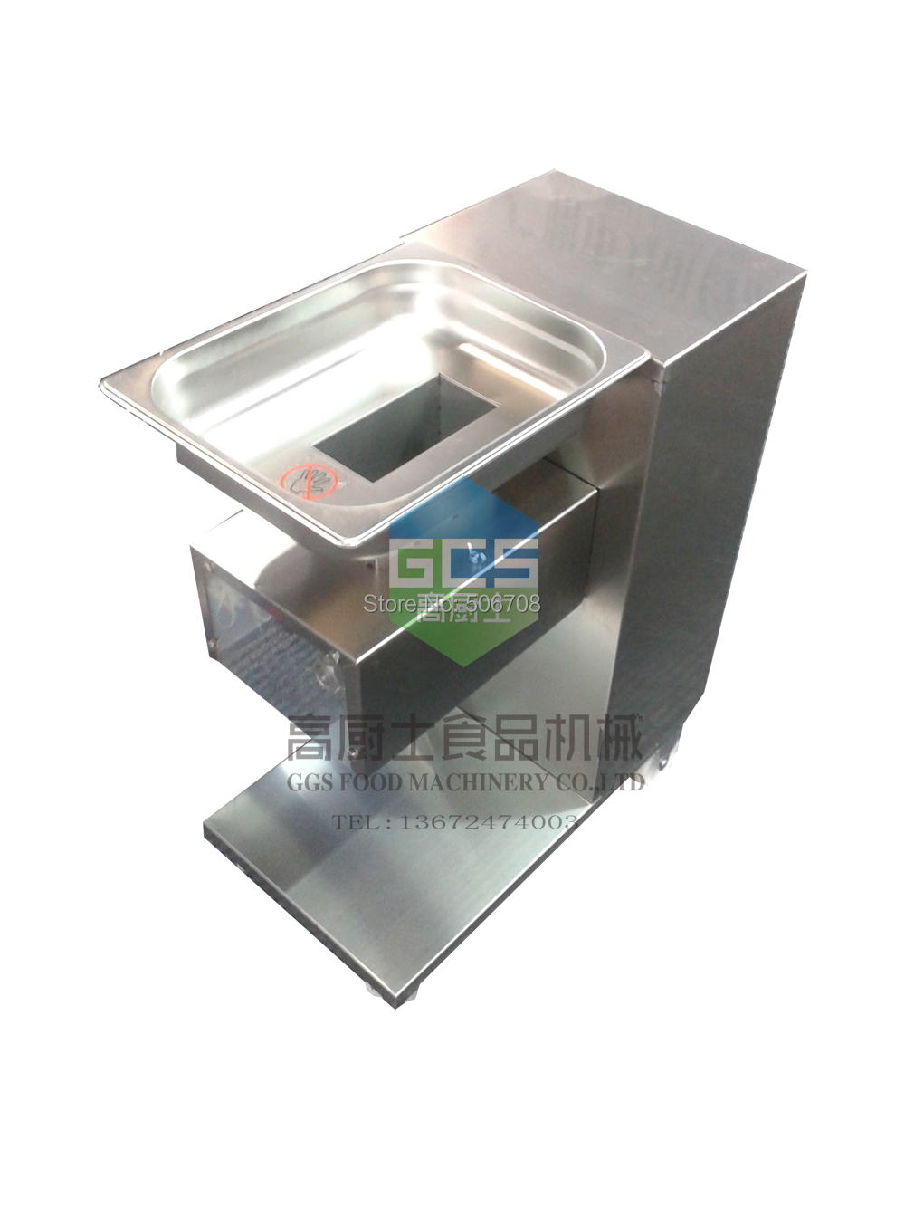 Buy Free shipping~220v / 110V QE Model Chicken meat slicer 500KG/Hour Meat Cutter Machine cheap