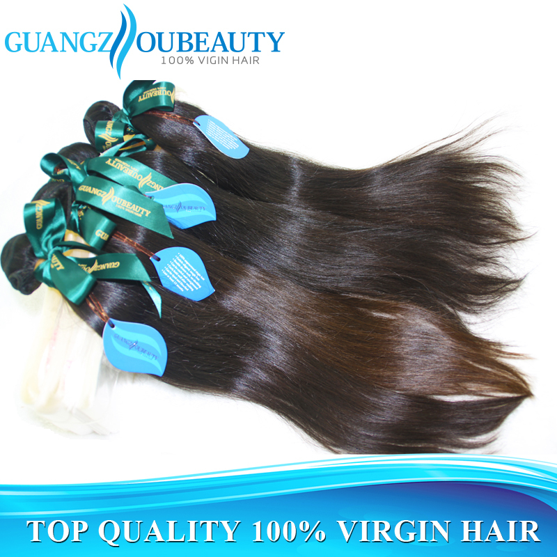 Best quality 7A raw unprocessed Peruvian virgin hair straight 3pcs lot, human hair weave straight bundles, free shipping(China (Mainland))