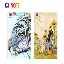 Lenovo k3 note case, Hard PC Lifelike 3D relief Painting Stereo Feeling Back Cover For lenovo k3 note/ a7000 Phone Bags