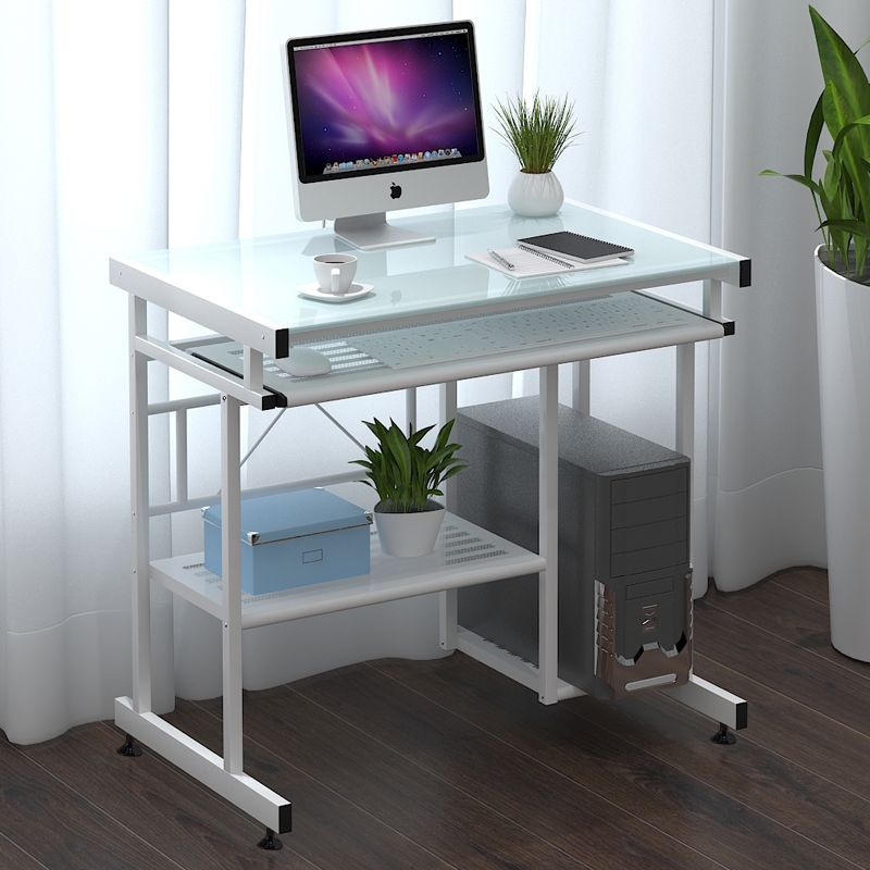 glass computer desk online shopping buy low price glass computer desk