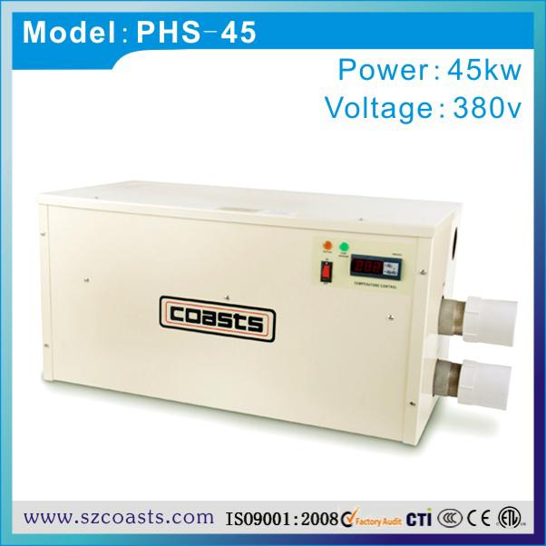 coasts brand PHS series 45KW 380V 50hz spa pool water heater price(China (Mainland))