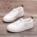 2017 Spring New FEIYAO Children leather shoes durable kid shoes Girls Boys Casual Hollow out shoes