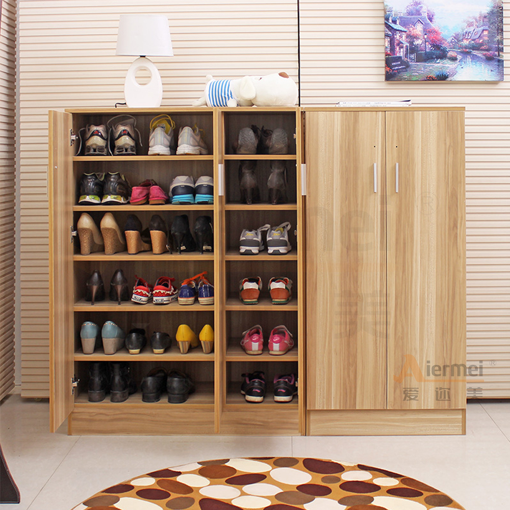 Home Furniture Solid Teak Wood Shoe Storage Cabinet Design Shoe Cabinet In Shoe Cabinets From