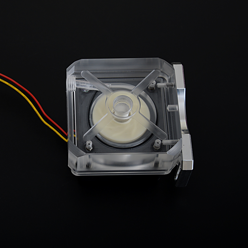 Syscooling SC-P70A plus liquid cooling pump electric water pump motor price, transparent water tank(China (Mainland))