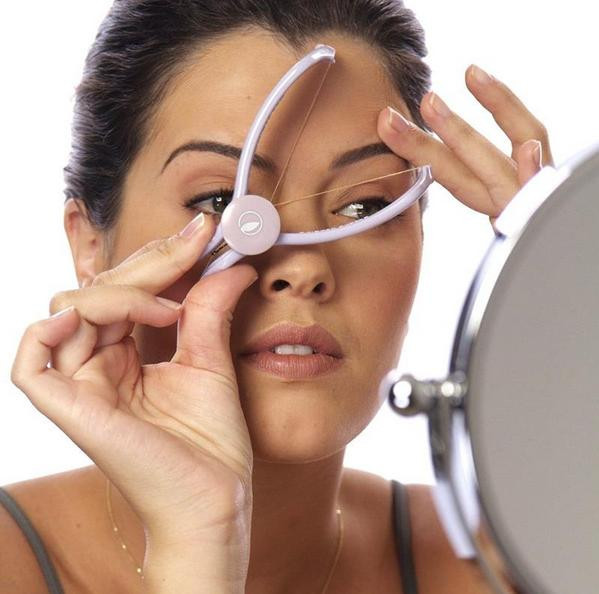 High quality New Beauty Tool Manually Threading Face Facial Hair Remover Epilator #240