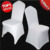 100 PCS Universal White Stretch Polyester Spandex Wedding Party Chair Covers for Weddings Banquet Hotel Decoration Decor