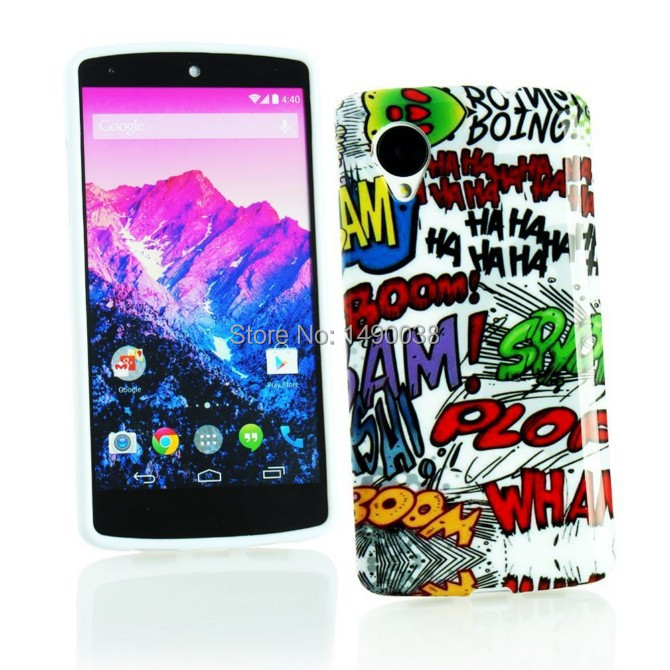 1 Piece Retro Radio Flower Case For Google LG Nexus 5 Silicon Radio Mobile Phone Case Free Shipment(China (Mainland))