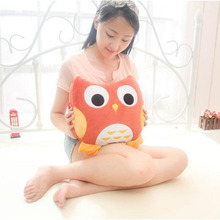 multifunction owl pillow and blanket,animal home sofa decorative cushion 2 in 1 quilt and cushion,kids toys,gift for children(China (Mainland))