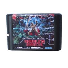 Vampiros 'n Fantasmas MD de 16 bits Tarjeta de Juego de Vídeo Para Sega Mega Drive Para Génesis
